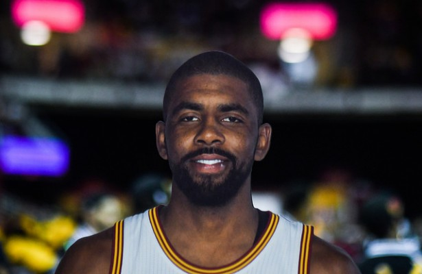 Newly acquired Boston Celtic Kyrie Irving still has three years and $60 million left on his current contract. Photo Courtesy: Erik Drost