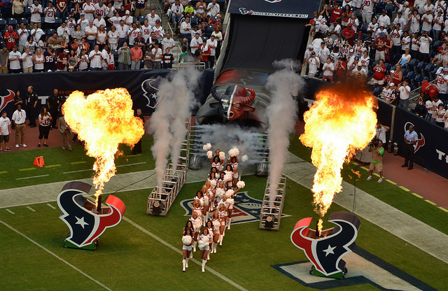 The Houston Texans will be ready to put on a show Saturday night against the Patriots. Photo Courtesy: The Brit_2