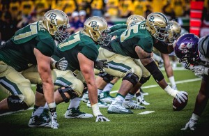 If the Bears plan on winning on Saturday, then the o-line must win in the trenches. Photo Courtesy: Rockin'Rita