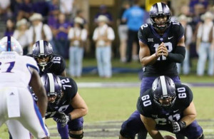 Kenny Hill and the Horned Frogs know they have to step up to the challenge in Ames this Saturday. Photo Courtesy: Dominic Ceraldi