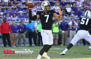 TCU QB Kenny Hill needs to play it cool against the Wildcats on Saturday. Photo Courtesy: Dominic Ceraldi