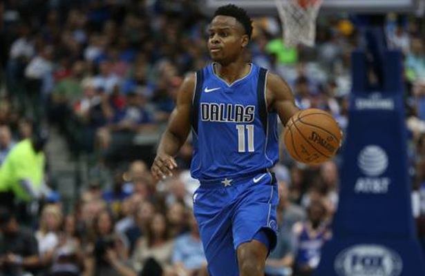 Mavericks PG Yogi Ferrell continues to patiently learn the game and improve. Photo Courtesy: Dominic Ceraldi
