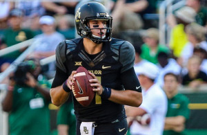 Baylor Bears QB Zach Smith will need to rely on the run game to open up passing lanes on Saturday. Photo Courtesy: Mattman1310