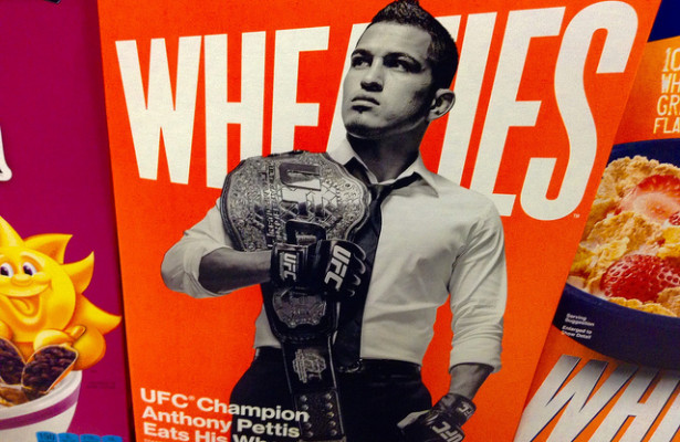 Anthony Pettis had an 18-2 record prior to his match with dos Anjos. Since that match Pettis has gone 2-5. Photo Courtesy: Mike Mozart