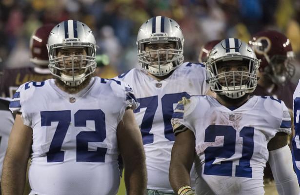 Cowboys RB Ezekiel Elliott and the o-line need to establish the run game early on Sunday. Photo Courtesy: Keith Allison