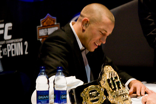 What's next for George St-Pierre now that he's successfully returned to the UFC? Photo Courtesy: Pixeloflight