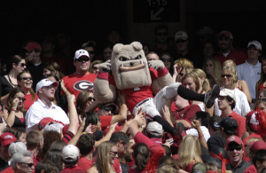 Only time will tell if the Georgia Bulldogs will be partying on Saturday night. Photo Courtesy: Kat Netzler