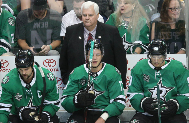 After another loss to the Jets, head coach Ken Hitchcock shakes up the lineup and…it worked! Photo courtesy: Michael Kolch