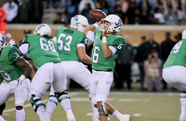 Mean Green QB Mason Fine (6) has been a part of the process of building a winning program. Photo Courtesy: Dominic Ceraldi