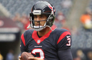 It looks like Texans QB Tom Savage is back in the saddle this week. Photo Courtesy: Rick Leal