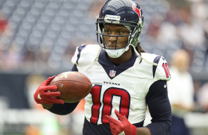 The 49ers defense should be prepared for a heavy dosage of Texans WR DeAndre Hopkins. Photo Courtesy: Rick Leal