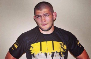 Khabib Nurmagomedov after training. Photo Courtesy: D.Quarick