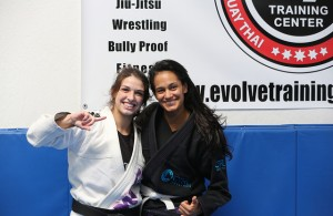 Mackenzie Dern (l) is ready for the UFC. Photo Courtesy: Andy E. Wang