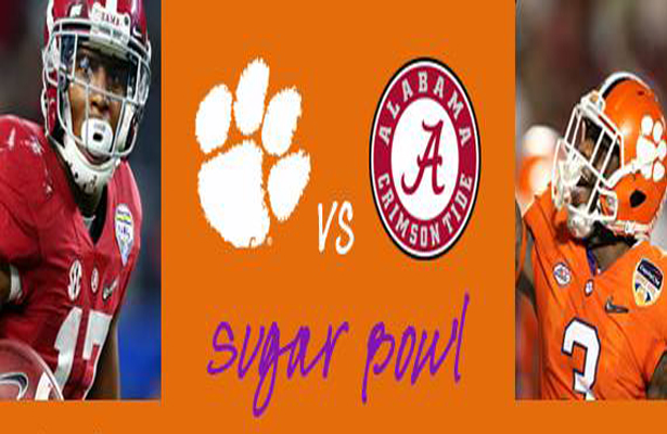 The Clemson Tigers and the Alabama Crimson Tide will face off for the third time straight in pursuit of a national title. Photo Courtesy: Oak N Ivy Facebook Page