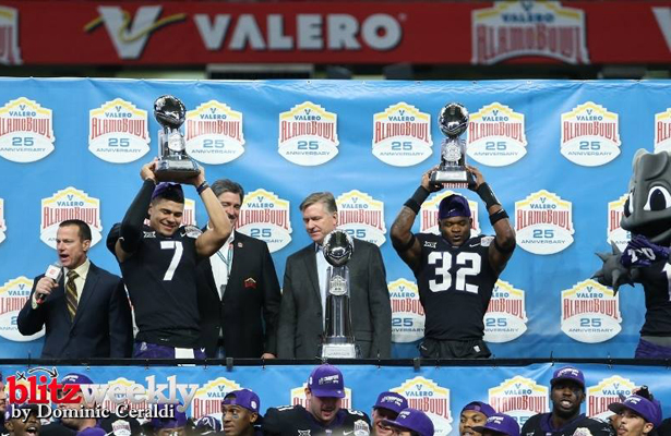 The Alamo Bowl and the TCU Horned Frogs have gotten to know each other quite well over the year. Photo Courtesy: Dominic Ceraldi