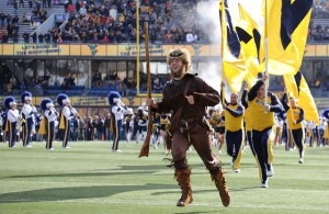 The West Virginia Mountaineers are looking forward to a victory in Big D today. Photo Courtesy: Erik Muendel