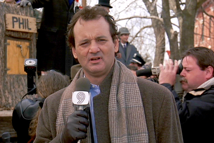 "Bill Murray in ""Groundhog Day"" (Photo courtesy of Sony Pictures)"
