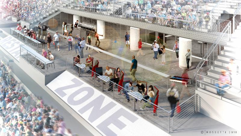 Restart BAR Zone Club (Photo courtesy of Texas Motor Speedway)
