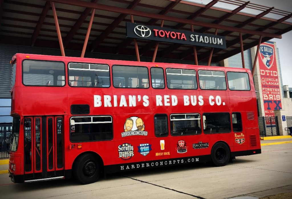 Brian's Red Bus (Photo courtesy of Harder Concepts)