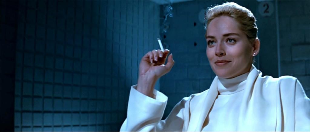"Sharon Stone in ""Basic Instinct"" (Photo courtesy of Carolco Pictures)"