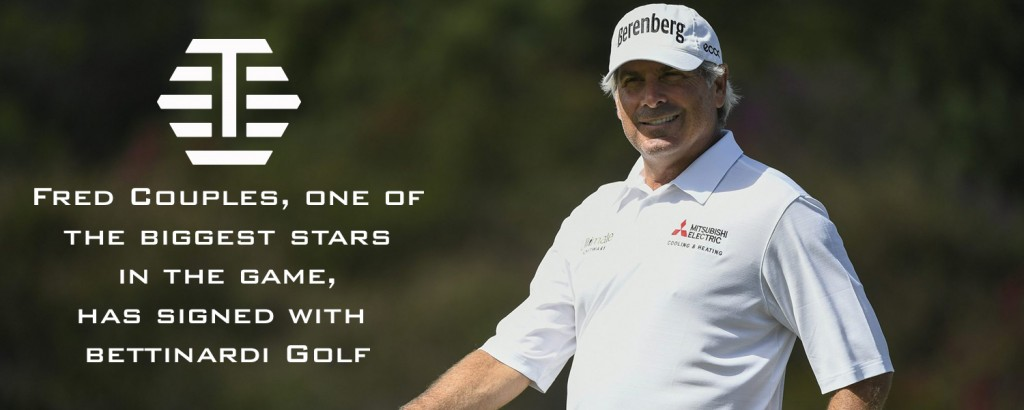 Fred Couples (Photo courtesy of Bettinardi Golf)