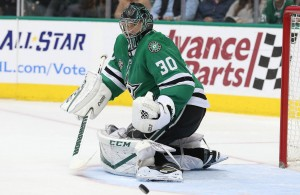 Ben Bishop snagged his fourth shutout of the season this week against the San Jose Sharks. The four shutouts is second most among NHL goaltenders. Photo Courtesy: Michael Kolch