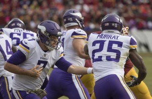 Case Keenum and the Vikings plan on keeping their Super Bowl dream alive today. Photo Courtesy: Keith Allison