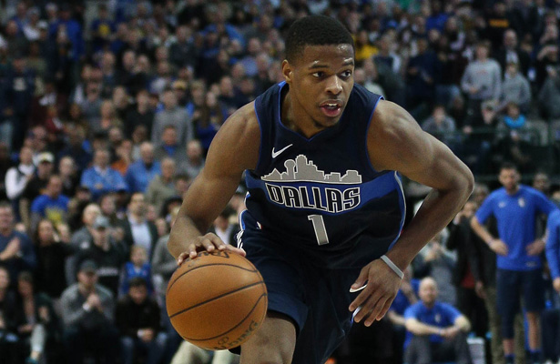 Dennis Smith Jr. continues to learn the game as his first NBA season progresses. Photo Courtesy: Michael Kolch