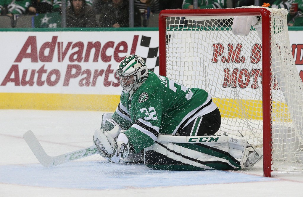 Kari Lehtonen gets some consecutive this week, picking up two wins on the road. Photo Courtesy: Michael Kolch