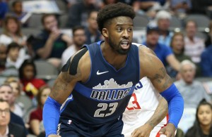 Wesley Matthews and the Dallas Mavericks continue to battle and show a lot of heart this season. Photo Courtesy: Michael Kolch