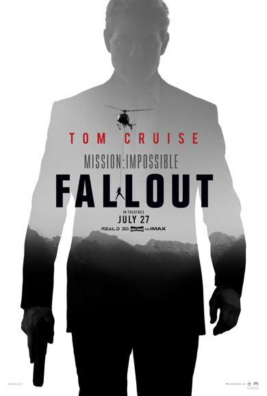 Mission: Impossible - Fallout starring Tom Cruise (Photo courtesy of Paramount Pictures)