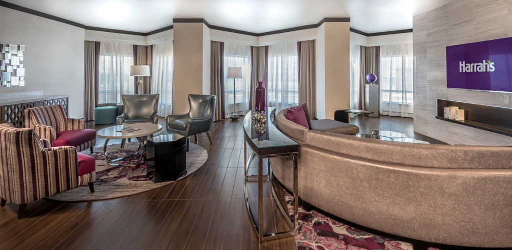 Harrah's Las Vegas Completes $140 Million Renovation of the Valley Tower, Including the New Presidential Suite (Photo/Caesars Entertainment)