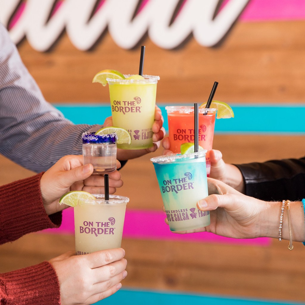 On The Border Mexican Grill & Cantina will be celebrating National Margarita Day weeks before the official fiesta! (Photo/On The Border Mexican Grill & C)
