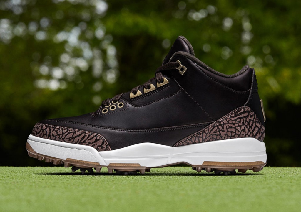 superior quality 4d4f4 f0bc9 Air Jordan Golf III Premium (Photo courtesy of Nike)