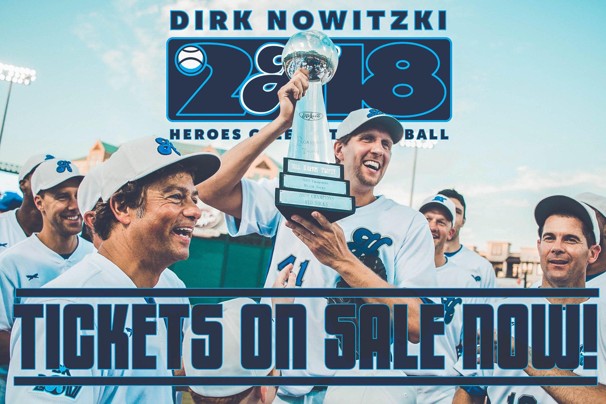 Dirk Nowitzki's Celebrity Baseball Game Tickets 2019 2020 ...