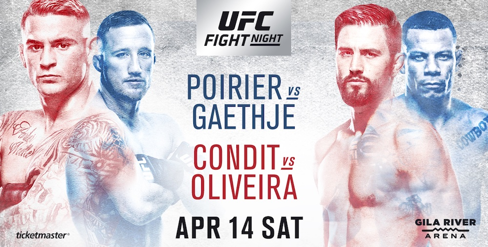 Ufc on fox poirier vs gaethje preview for Angel thai cuisine glendale