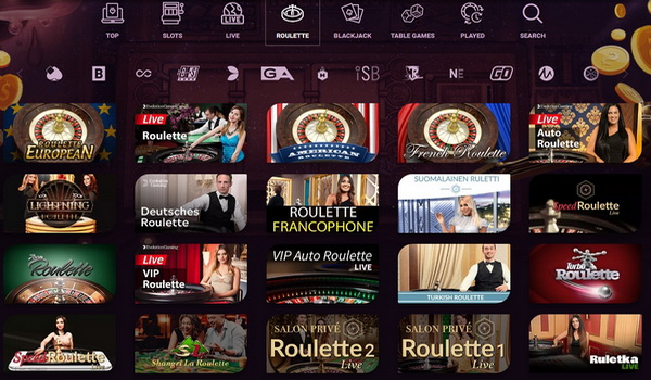 Play with real money in online roulette